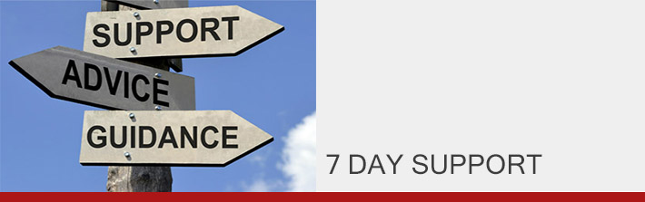 7 Day Support