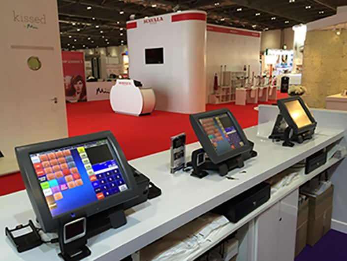 Gerrad International Stand EPOS Hire