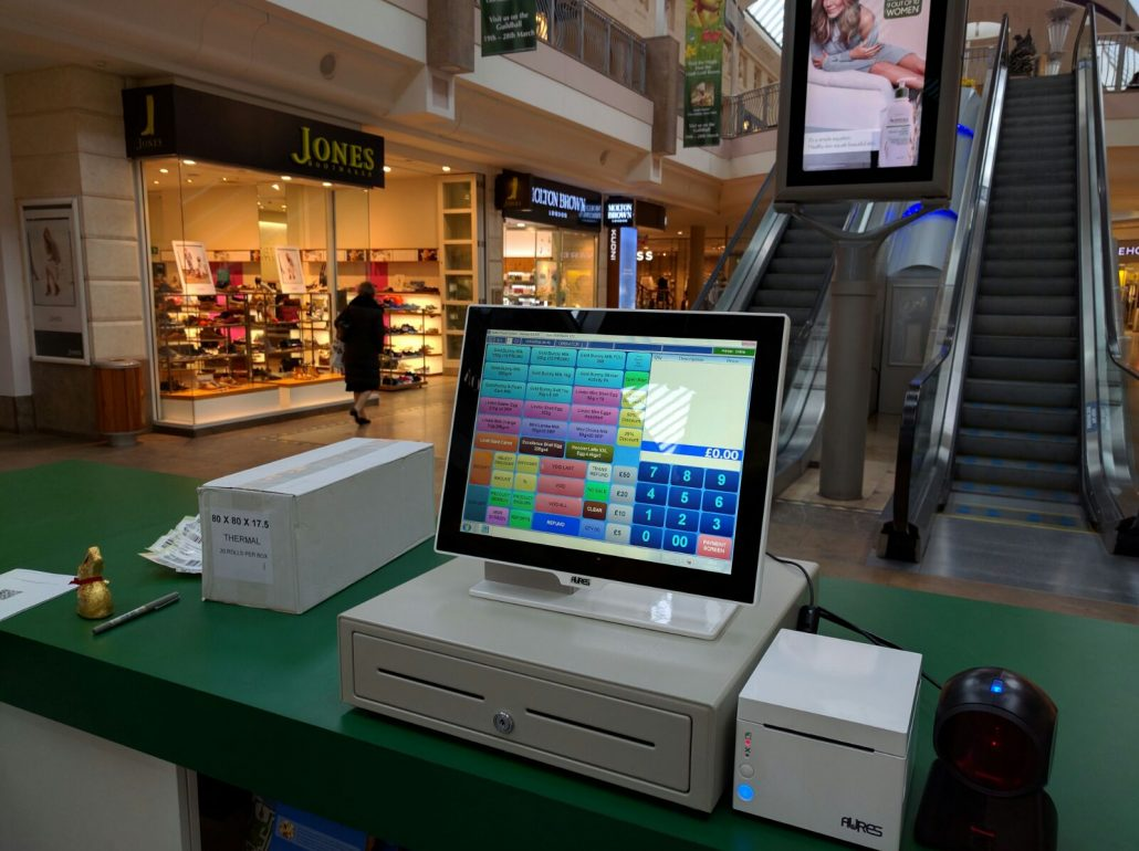 EPOS Rental Lindt Bluewater Stand
