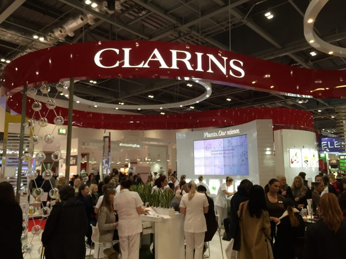 Clarins Beauty Stand Till System Hire