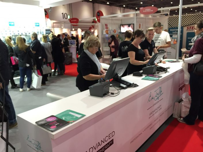 Eve Taylor Stand EPOS System Hire