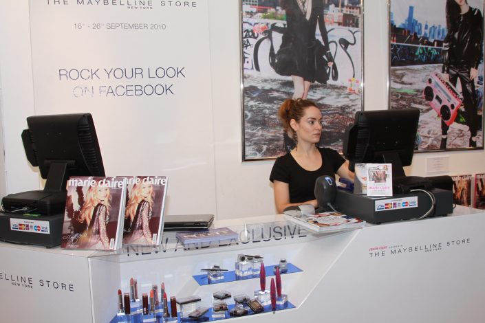 Maybelline Retail EPOS System Hire
