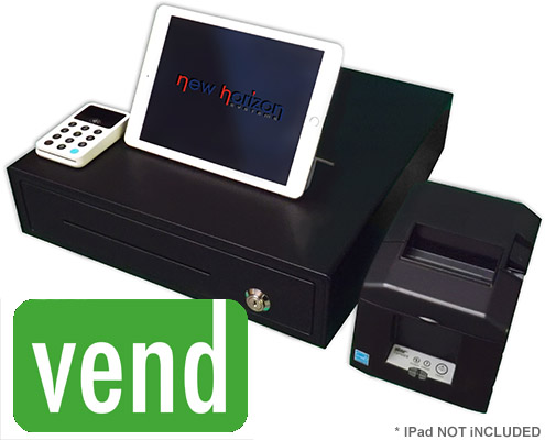 Vend POS Hire Package with Stationary Printer