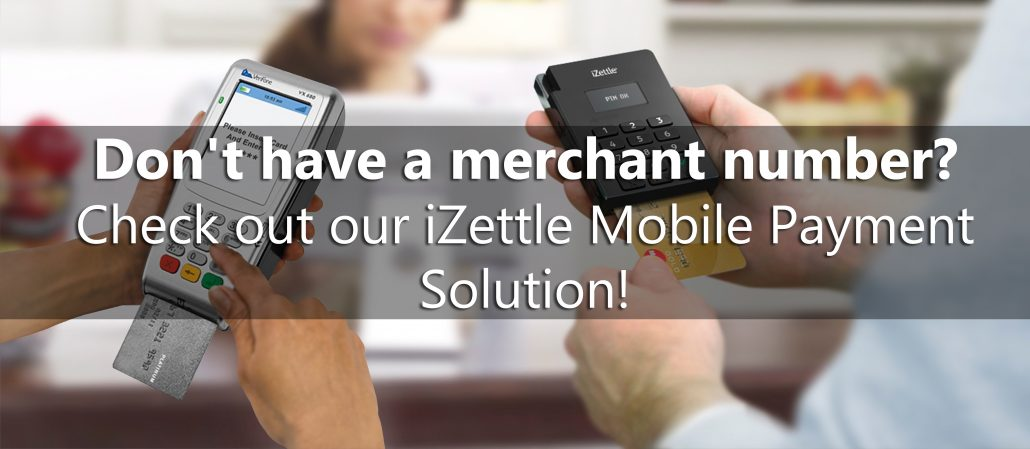 Take card paymentds wothout a merchant number