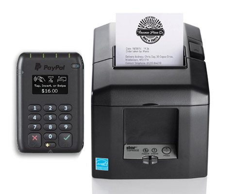 PayPal Reader Hire with Stationary Printer