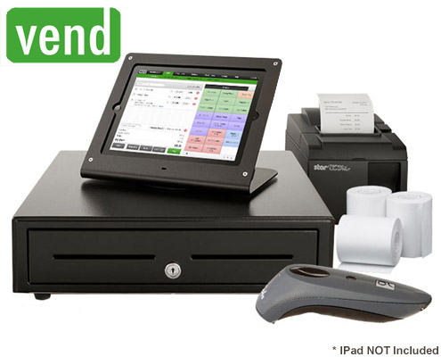 Vend POS Hire Package with Scanner