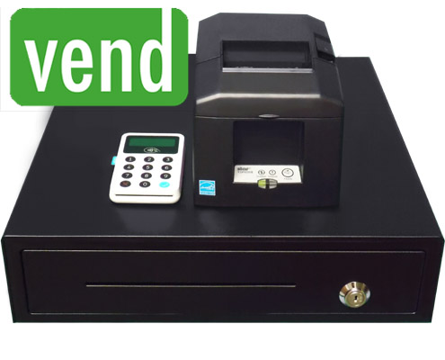 Vend POS Package with Stationary Printer